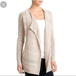 Athleta Merino Plains Wrap Sweater Cardigan